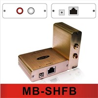 Stereo Hi-Fi  audio balun audio extender by Cat5e/6  MB-SHFB