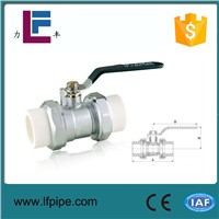 ppr double union ball valve