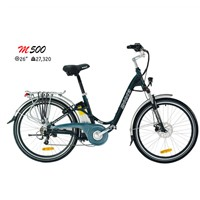 Electric Push Bike With Comfortable Design