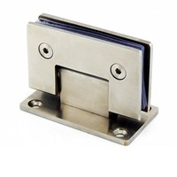 Stainless steel bathroom glass clamp (fitting)