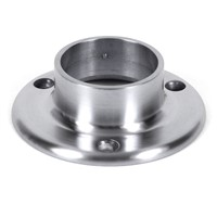 Stainless steel tube base (handrail fitting)