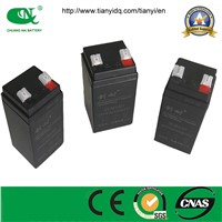 4V4AH LEAD ACID BATTERY /VRLA BATTERY FOR EMERGENCY LIGHT