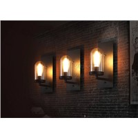 loft industrial style indoor decoration modern bedroom wall lighting