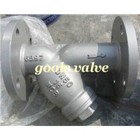 Flanged Y type strainer,cast steel,WCB,stainless steel