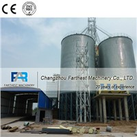 Corrugated Steel Poultry Feed Storage Silo