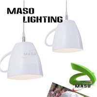 Maso Resin Cup Pendant Light Modern Type Shop Lighting Fixtures MS-P1051 E27 LED Source