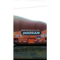 Used Doosan solar 140w wheel excavator second hand Doosan 140w 14t wheel excavator for sale