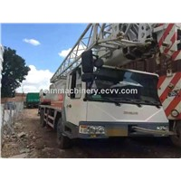 Used condition zoomlion 80t truck crane second hand zoomlion 80t mobile crane used zoomlion 80t