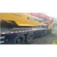 Sany China made STC750 75T truck crane used condition year 2013 sany 75t mobile crane for sale