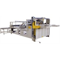 Carton box semi-automatic folder gluer