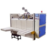 Carton box semiauto stitcher machine
