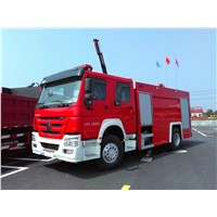 HOWO 4x2 fire truck for sale