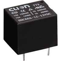 MINI PCB RELAY T73 SPDT 5 PINS 7A RELAY
