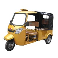 Three Wheel Gasoline Motorcycle for Passenger with Cabin