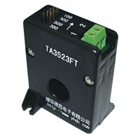 plate-type variable range current transformer