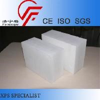 White Extruded Polystyrene Sheets, fireproof insulation board, waterproof styrofoam