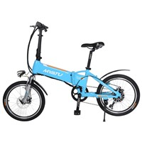 "20"" Folding Electric Bicycle with Aluminum alloy frame"