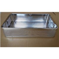 Stainless perforated container