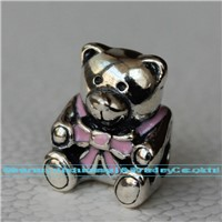 Enamel Jewellery Teddy Bear Charm