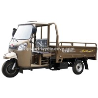250cc Adult Cargo Motor Tricycle with Cabin for Sale