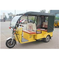 48V1000W 3 Wheeler Electric Passenger Rickshaw / 5 People Load Battery Tricycle