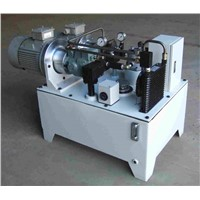 CNC lathe machine hydraulic power unit