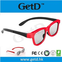 Adult Cinema use circular polarization 3D glasses GetD CP297G66