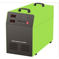 Solar Power Inverter  Combined PV Controller & Battery
