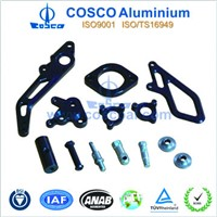 Aluminium alloy extruded auto part