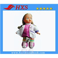 Best Selling Plush Toy Music Box or Sound Box for Baby Doll