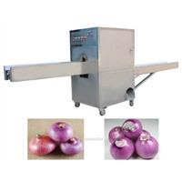 High efficient and Cheap onion ends cutting machine