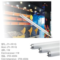 led tube  11w 120mm glass Lampshade with ce rohs (Patented products)led lighting