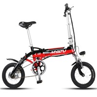 "14"" Folding electric bicycle with lithium battery"