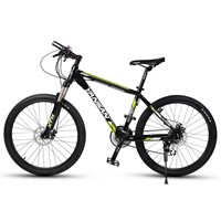 24 Speed Suspension mountain bike with T6061 aluminum alloy frame