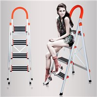 aluminum household ladder 4steps D Type pipe NEW MODEL