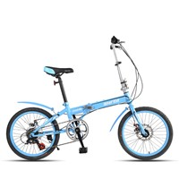 "20"" High Carbon Steel Folding Bicycle"