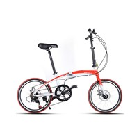 "20"" high carbon steel  folding bike"