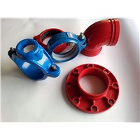 FM UL Approved Grooved Pipe Fitting/Equal Tee/Reducing Tee