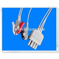 Nihon Kohden ECG Cable Leadwires TPU Material
