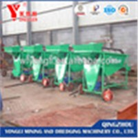 movable dry land gold trommel for sale