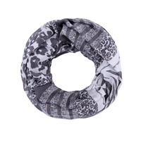 Gift for girls fashion accessory  leopard print loop infinity scarf