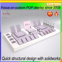 2015 hot sell customized table top acrylic display stand