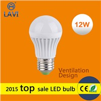Led bulb E27 3W 5W 7W 9W 12W PC shade SMD2835 epistar led bulb lights