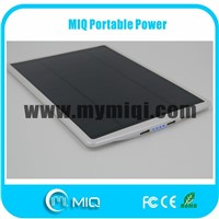 Real practical solar power bank with high performance solar panel 5W