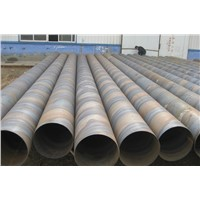 SSAW spiral steel pipe/helical steel pipe for oil and gas convenyance
