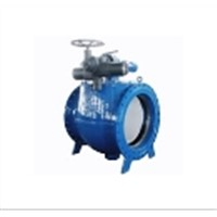 PQ947X soft seal electric eccentric half ball valve