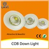 2015 Top popular new design led cob die-cast downlight 10w 20w 30w 50w hign power cob lights