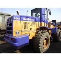 Used Lonking LG833 3t wheel loader second hand Liugong LG833 3t loader for sale