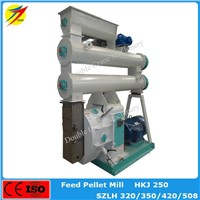 CE approved cattle feed pellet machine