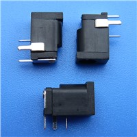 3 Pin 1.3 DC Female Power Jack Connector Plug